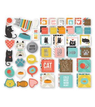 Simple Stories Insta Squares & Pieces - Cat