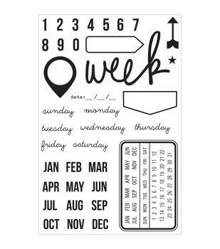 Simple Stories DIY Stamps - Date