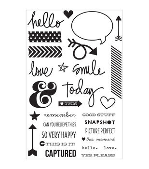 Simple Stories DIY Stamps - Journaling