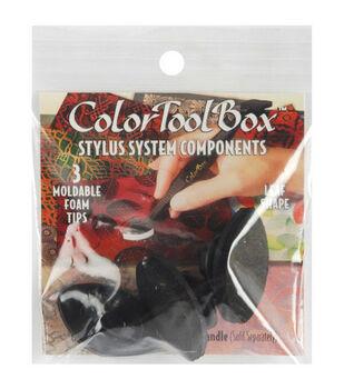 ColorToolBox Moldable Stylus Tips-3PK/Leaf