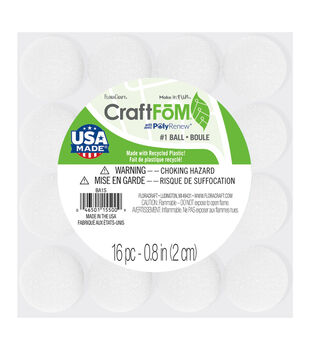 Styrofoam®  Ball-1'' White