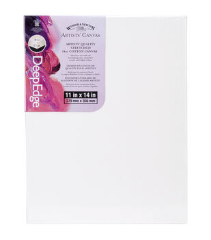Winsor & Newton Artists' Quality Deep Edge Stretched Canvas 11''x14''