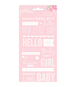 """Special Delivery Girl Watermark rub-ons 3.75""""X6.75""""-Phrases"""