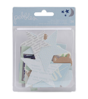 Special Delivery Boy Die-Cuts 36/Pkg-Shapes, Frames, Tags, etc.