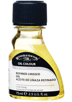 Winsor & Newton Refined Linseed Oil-75ml