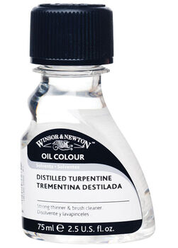 Winsor & Newton Distilled Turpentine-75ml