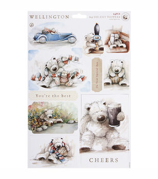 Docrafts Wellington A4 Die-Cut Toppers You're The Best