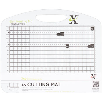 Xcut Duo Cutting Mat Black And White A5