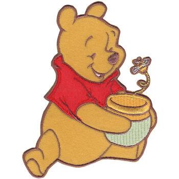 Wrights Disney Winnie The Pooh Iron-On Applique Pooh Honey Pot & Bee