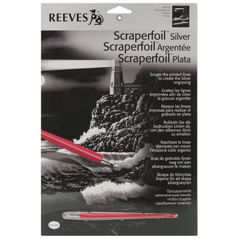 Reeves Silver Scraperfoil Kit The Lighthouse
