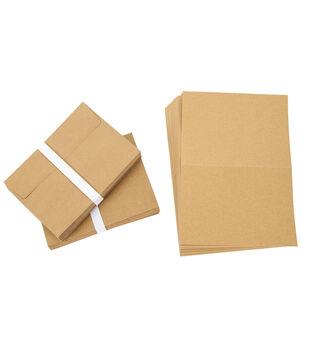 Core'dinations Card/Envelopes:  A7 Kraft; 50 pack