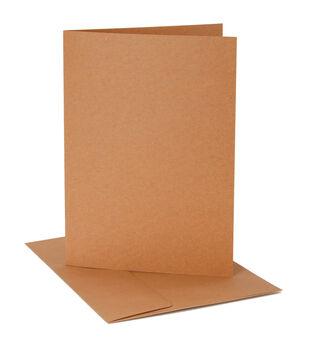 Core'dinations Card/Envelopes:  A1 Kraft; 12 pack