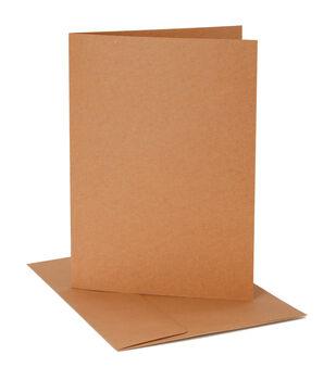 Core'dinations Card/Envelopes:  A7 Kraft; 12 pack