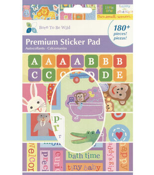 Premium Sticker Pad-Born To Be Wild