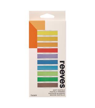 REEVES 12 PC SOFT PASTELS