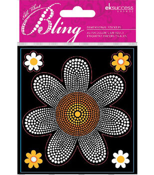 EK Success Bling Stickers-Daisy