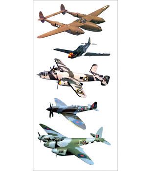 Paper House Stickers-Fighter Planes