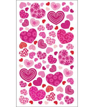 Sticko Epoxy & Mylar Stickers-Valentine