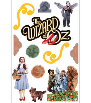 Paper House 3-D Sticker-Wizard Of Oz