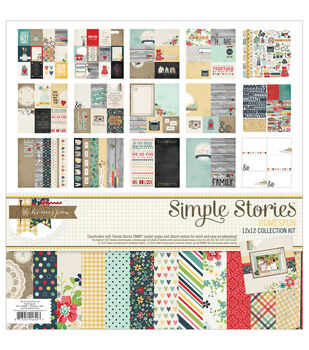 "Homespun Collection Kit 12""X12""-"