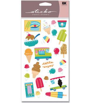 EK Success Sticko Glitter Stickers-Ice Cream Truck