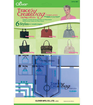 Trace 'n Create Bag Templates-City Bag Collection-6/Styles