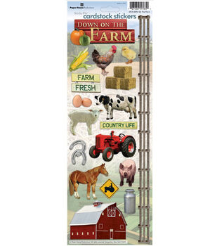 Paper House Cardstock Stickers-On The Farm