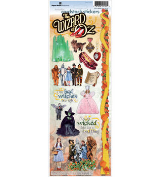 Paper House Cardstock Stickers-The Wizard of Oz