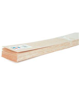 Balsa Wood 36'' Sheet-20PK/1/8''x3''