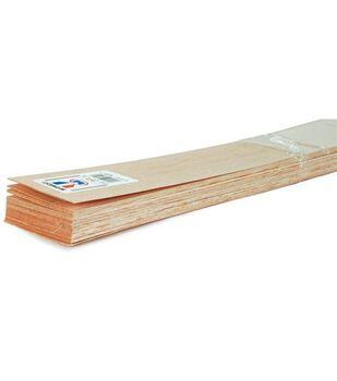 """Balsa Wood 36'' Sheets-20PK/1/16""""X3"""""""