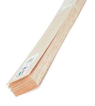 Balsa Wood 36'' Sheets-15PK/3/32''x4''