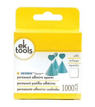 Vario Adhesive Tab Refill Permanent-1000/Pkg
