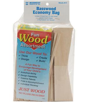 Midwest Basswood Economy Bag