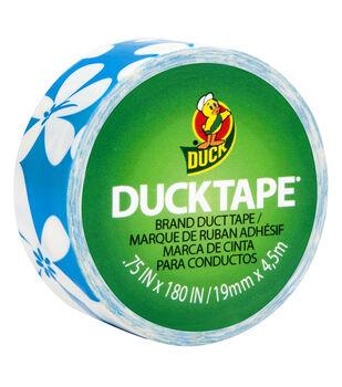Duck Tape Mini Blue Flower