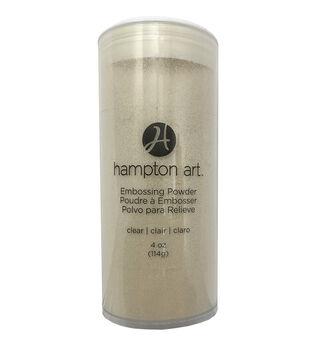 Hampton Art A La Mode 4 oz. Clear Embossing Powder