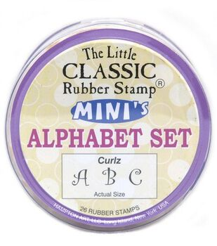 Mini Alpha Set Curlz