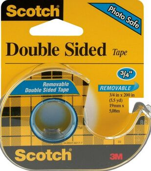 Scotch Removable Double Sided Tape