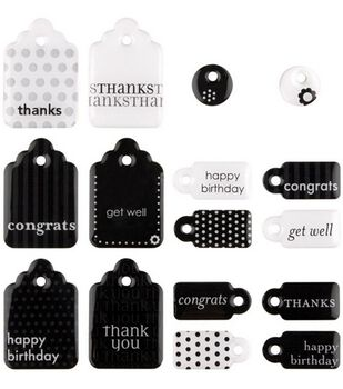 Sweets Dimensional 2-Sided Embellishments-Tags Cards