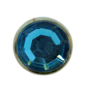 "Jewel Spots, 3/8"", Turquoise, 10/pk"