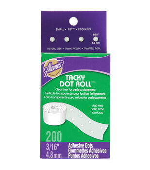 "Aleene's Tacky Dot Roll 3/16"" 200/Pkg-"