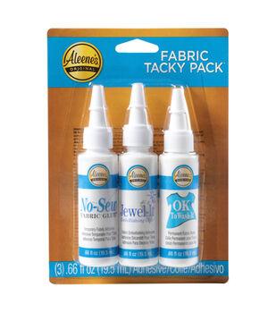 Aleene's Try Me Size Tacky Glue-3PK/Fabric