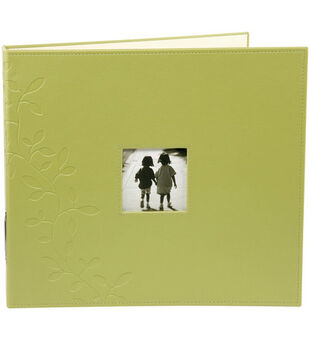 Making Memories 12''x12'' Embossed Faux Leather 3-Ring Album