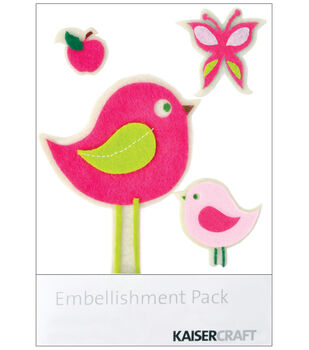 Kaisercraft Embellishment Pack-Hey Birdie