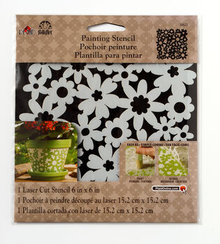 FolkArt ® Painting Stencils - Small - Ditsy Floral