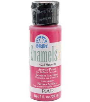 FolkArt ® Enamels™ - Aqua, 2 oz.