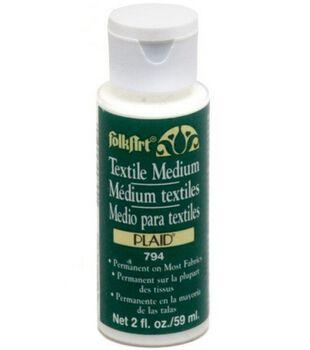 FolkArt® Acrylic Textile Medium 2 oz