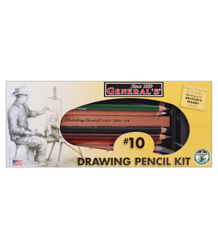 Classic Drawing & Sketching Kit-12 Pieces