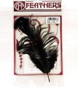 Black Ostrich Plume