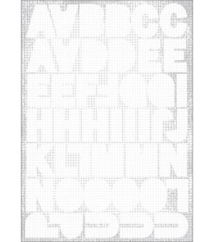 Kaisercraft Square Alpha Stickers-3PK