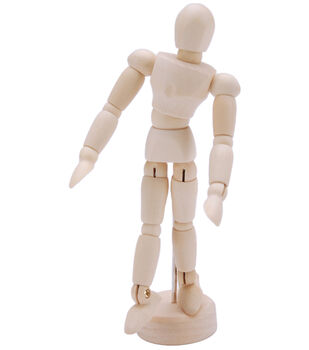 "Reeves Mini Manikin 5.25""-Jointed"